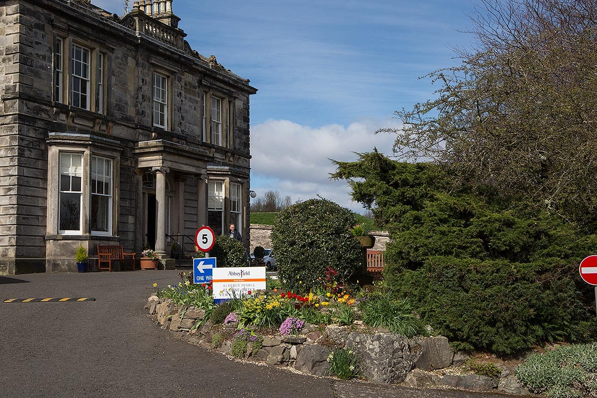 Viewlands House care home for the elderly Perth Scotland